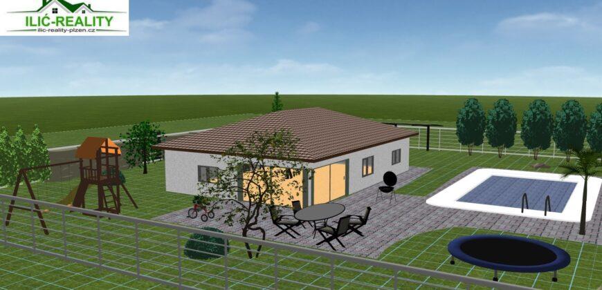 PRODÁNO – Prodej rodinného domu 100 m², pozemek 800 m² Nad Vlkýšem, Plzeň